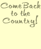 Come Back to the Country